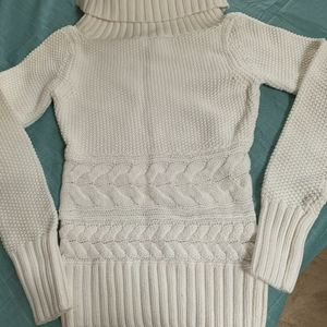 Knit Sweater with cowl neck